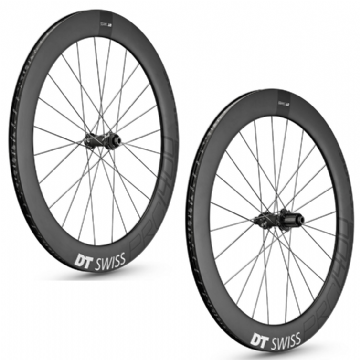 Paire de roues carbone PRC 1400 SPLINE 65 Disc DT SWISS